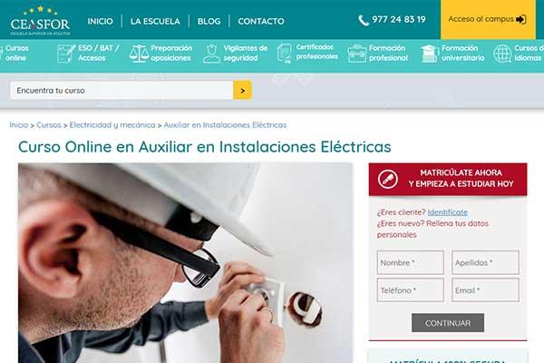 curso electricidad y mecánica ceasfor